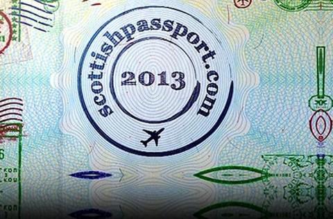 Scottish Passport 2013